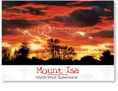 Mount Isa North West Queensland - DISCOUNTED Standard Postcard  MTI-461