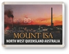 MOUNT ISA SUNSET - Framed Magnet MTIFM-003