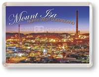 MOUNT ISA SUNSET - Framed Magnet MTIFM-007