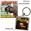 Mount Isa Rodeo Capital - 40mm x 40mm Keyring  MTIK-004