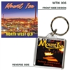 Mount Isa At Night - 40mm x 40mm Keyring  MTIK-006