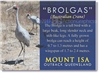 BROLGAS Mount Isa - Large Magnets MTILM-005