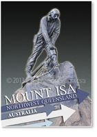 Mount Isa - Small Magnets  MTIM-001