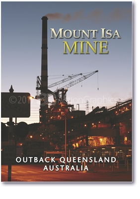Mount Isa MINE - Small Magnets  MTIM-004