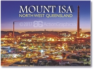 Mount Isa SUNSET - Small Magnets  MTIM-008