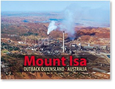 Mount Isa - Small Magnets  MTIM-075