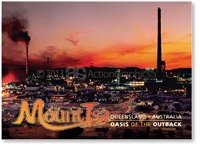 Mount Isa Oasis of the Outback - Small Magnets  MTIM-086