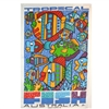 TROPICAL FISH Cotton/Linen Tea Towel - MW3