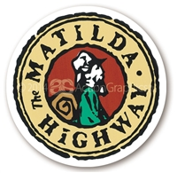 The Matilda Highway  - Round Sticker - Discounted
