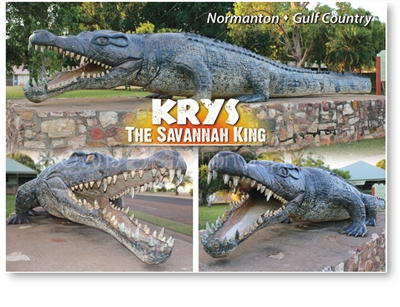 Normanton, Krys the Savannah King - Standard Postcard  NOR-001