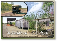 Black Bull Siding - Standard Postcard  NOR-005