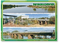 Normanton Bridge - Standard Postcard  NOR-007