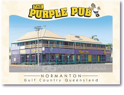 The Purple Pub - Standard Postcard  NOR-016
