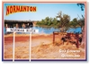 Normanton Norman River - DISCOUNTED Standard Postcard  NOR-099