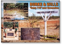 Burke & Will Camp 119 - Standard Postcard  NOR-112