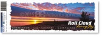 Roll Cloud  - Bumper Sticker  NORBS-003