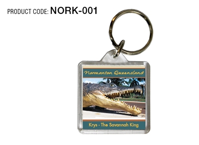 Normanton - Square / Round / Oblong Keyring
