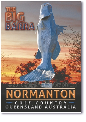 The Big Barra - Small Magnets  NORM-008