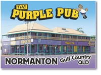The Purple Pub - Small Magnets  NORM-012
