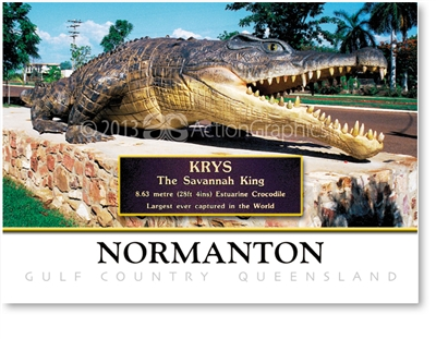 Krys & Plaque - Small Magnets  NORM-035
