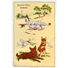 MUSTER TIME Cotton/Linen Tea Towel - OC312
