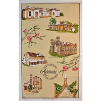 HISTORICAL ADELAIDE Cotton/Linen Tea Towel - PC501