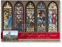 St. Paul's Anglican Church - Standard Postcard  ROM-010