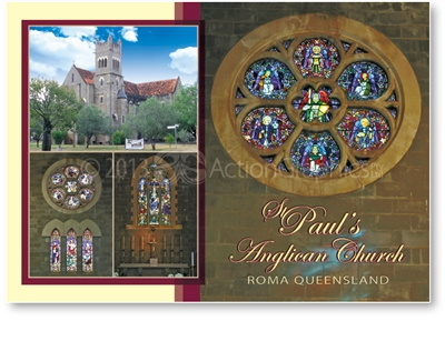 St. Paul's Anglican Church - Standard Postcard  ROM-011