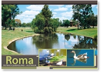 Roma Outback Queensland Australia - DISCOUNTED Standard Postcard  ROM-192