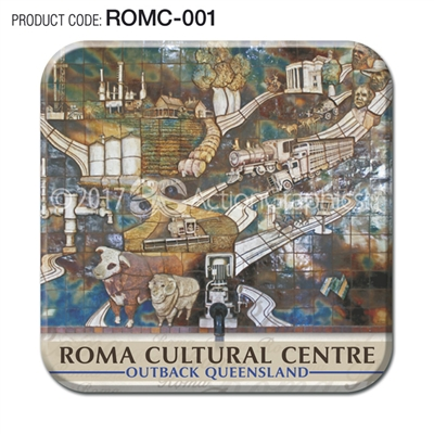 Roma - Set of 2 coasters