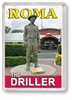 The Driller - Framed Magnet  ROMFM-001