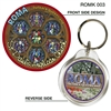 St Paul's Anglican Church - 40mm Round Keyring  ROMK-003