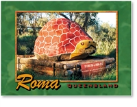 Roma Queensland - Small Magnets  ROMM-009