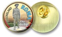 Roma The Driller - Hat Badge