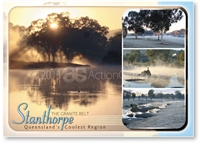 Stanthorpe The Granite Belt - Standard Postcard  STP-004