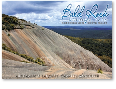 Bald Rock National Park - Standard Postcard  STP-007