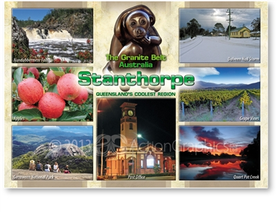 The Granite Belt Australia Stanthorpe - Standard Postcard  STP-012