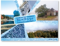 Winter Freeze in Stanthorpe - Standard Postcard  STP-163