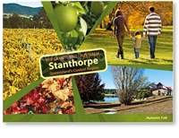 Autumn Fall in Stanthorpe - Standard Postcard  STP-164