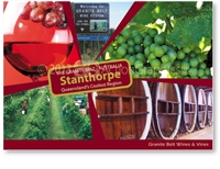 Granite Belt Wine & Vines - Standard Postcard  STP-168