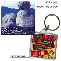 The Sphinx Girraween National Park - 40mm x 40mm Keyring  STPK-002