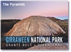 The Pyramids Girraween National Park - Small Magnets  STPM-013