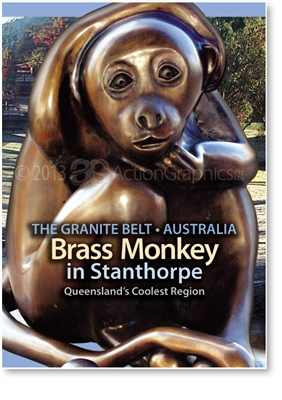 Brass Monkey - Small Magnets  STPM-041