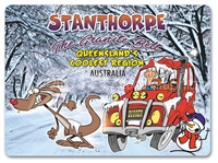 Cartoon Queensland's Coolest Region - Mouse Pads STPMP-001
