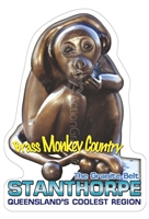 Brass Monkey Country Stanthorpe - Rectangular Sticker  STPS-006
