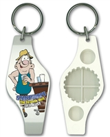 Man in a bar - Stubby Opener Keyring  STPSO-002