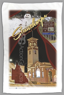 Post Office Stanthorpe - Sublimated Tea Towels STPTT-004