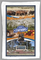 Stanthorpe Show 2019 - Sublimated Tea Towels STPTT-008