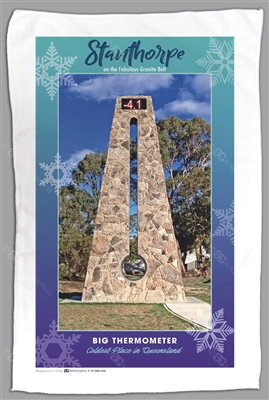 Big Thermometer - Sublimated Tea Towels STPTT-009