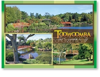 Toowoomba The Garden City - Standard Postcard  TBA-005